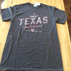 Delta Shirts - NWT Texas men's small t-shirt choose blue or grey
